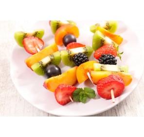 Spiedini di frutta fresca